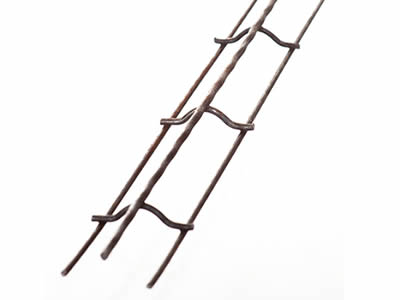 Reinforcing bar Bolster upper is used for supporting one layer of steel above another and spacing them to required distance.