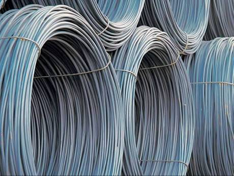 galvanized rebars in rolls
